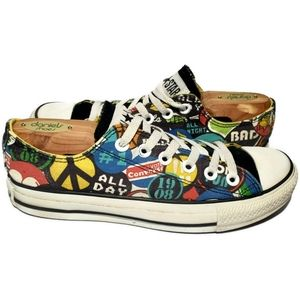 Converse Chuck Taylor Pop Art Womens Size 7 Mens 5
